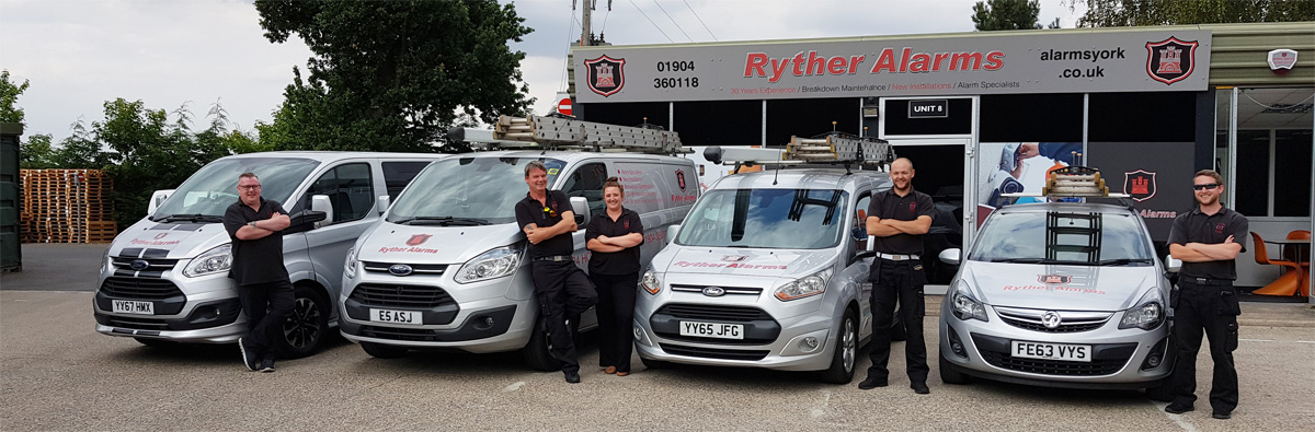 ryther alarms team members photo